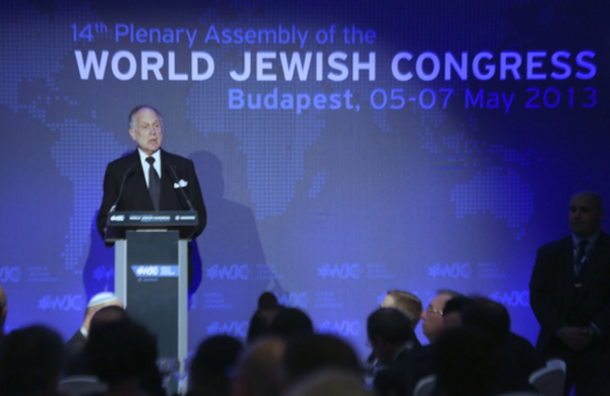 Speech by Ronald S. Lauder at opening dinner of World Jewish Congress assembly in Budapest