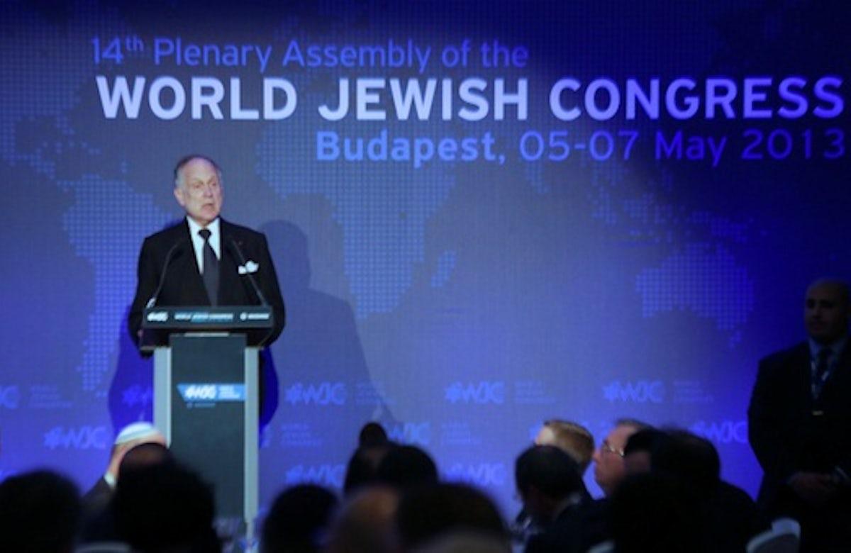 World Jewish Congress Plenary Assembly in Budapest