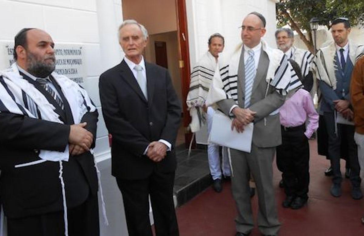 Mozambique synagogue re-dedicated after restoration
