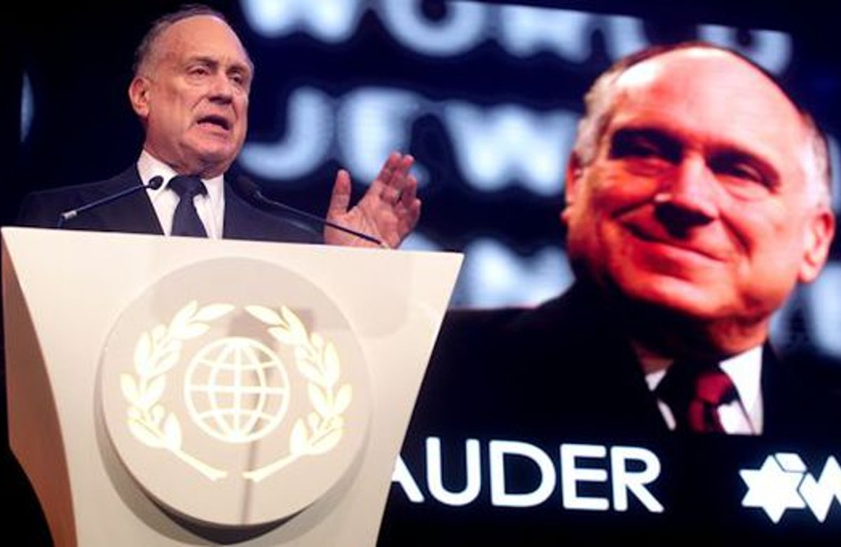 Feast of Tabernacles: Lauder thanks thousands of Christian supporters of Israel