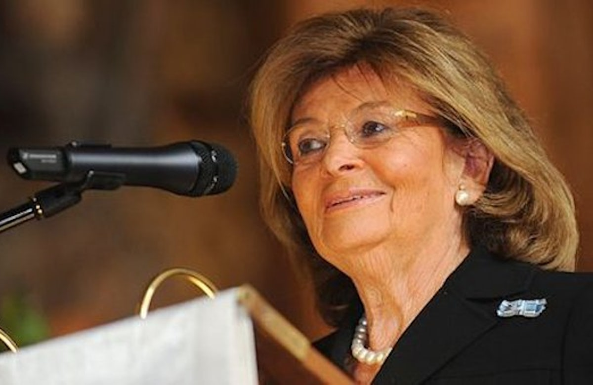 German Jewish leader Charlotte Knobloch honored in New York