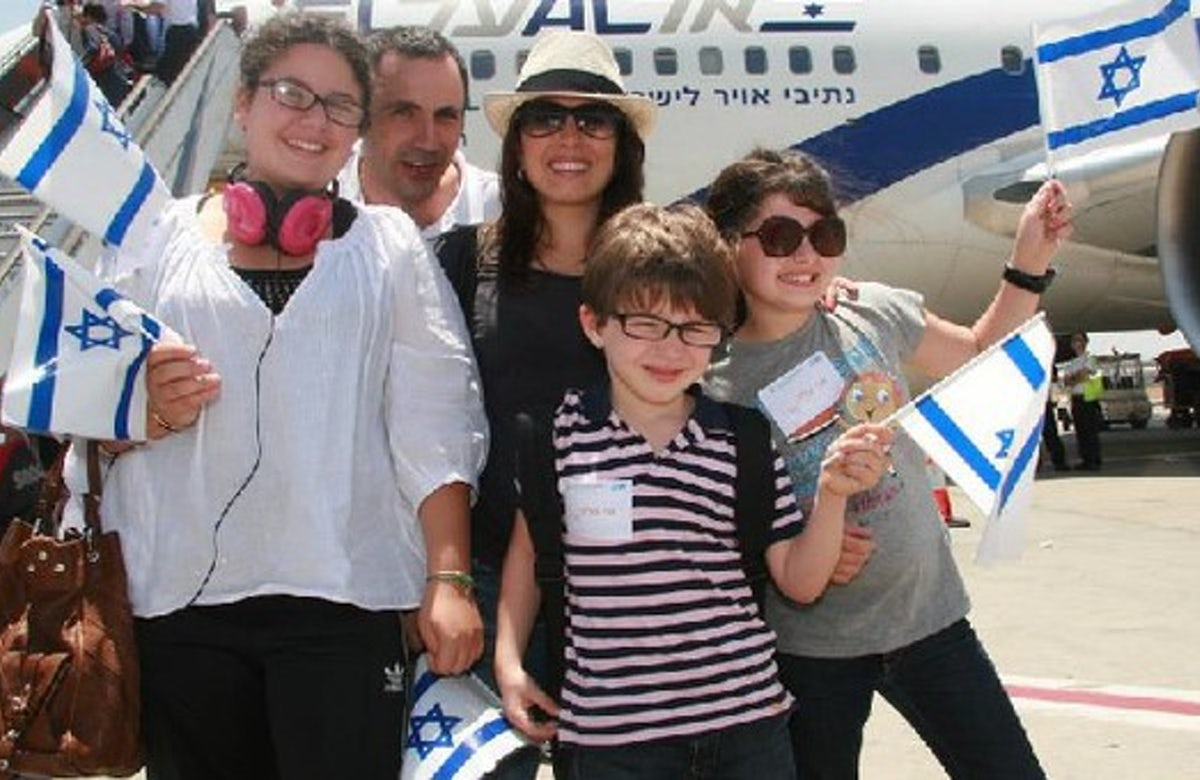 France records the highest aliyah rates in 2013
