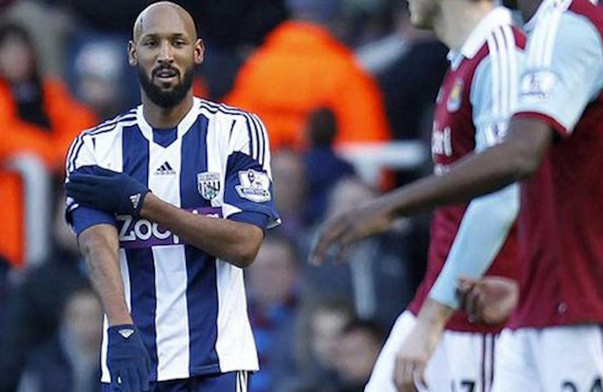 French soccer star Anelka facing ban for Nazi-style salute