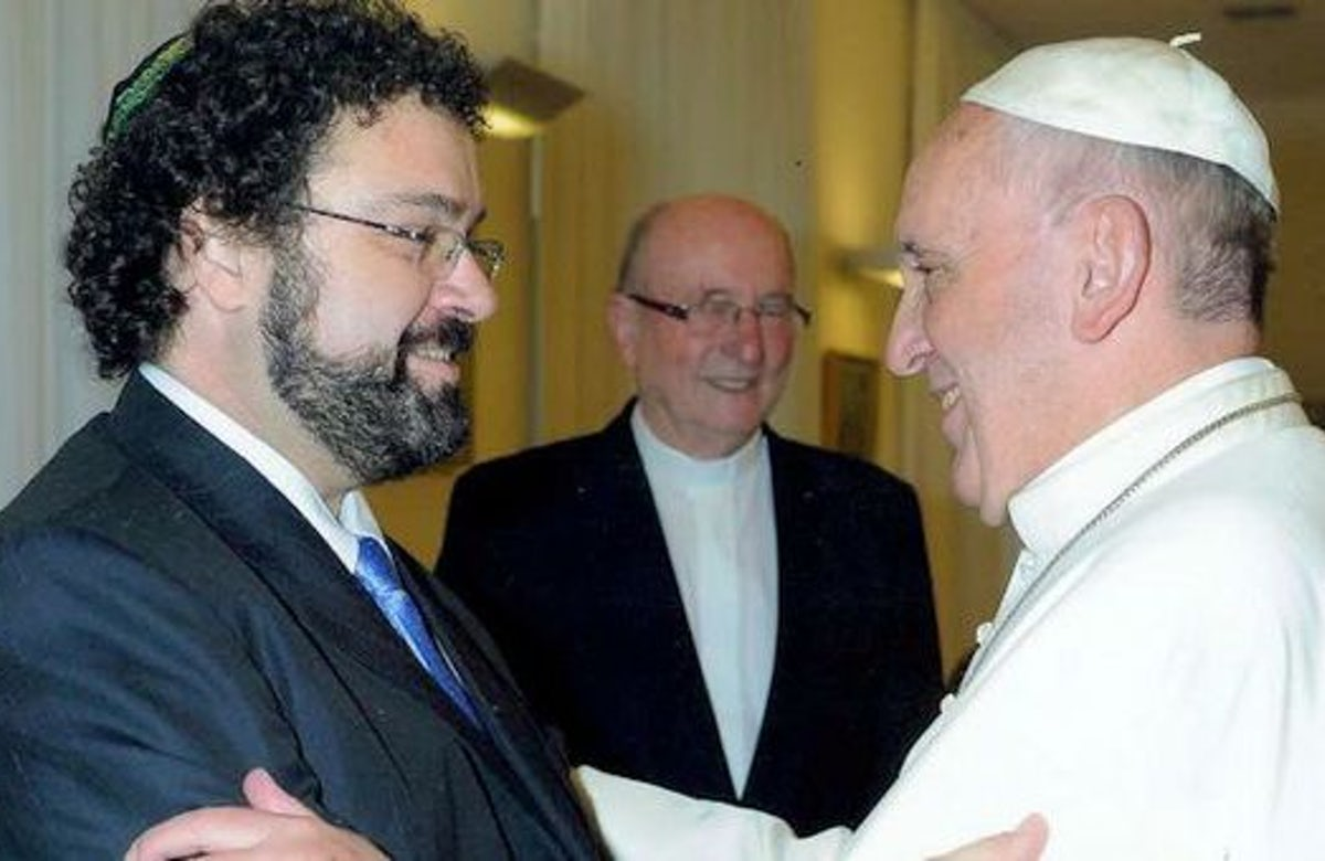 Pope Francis to meet with Argentine Jewish leaders at the Vatican