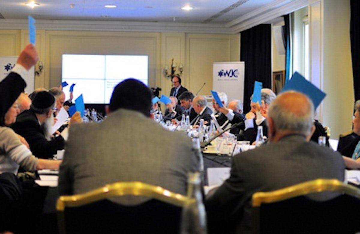 Paris: WJC Executive backs restrictions on anti-Semitic hate speech, discusses situation of Ukrainian Jews