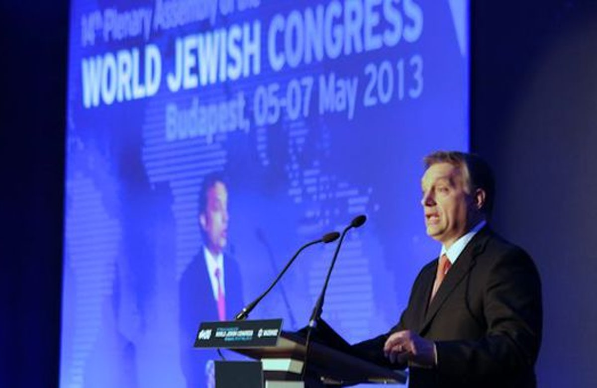 World Jewish Congress urges Italy to refuse accreditation of 'anti-Semitic' Hungarian ambassador
