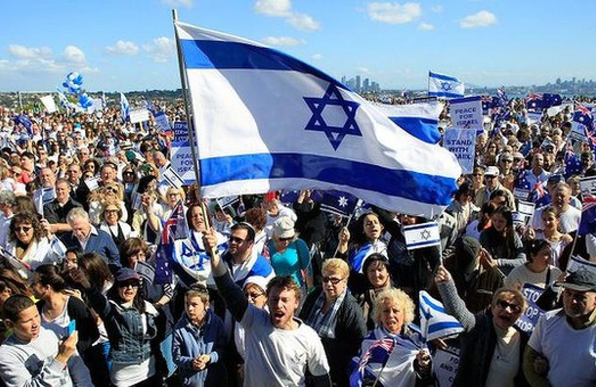 Ten thousand in Australia rally in support of Israel