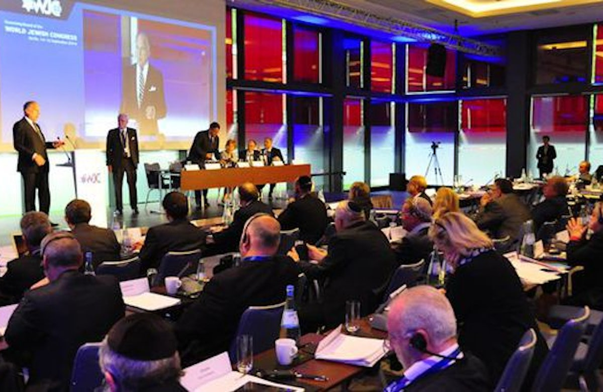 World Jewish Congress meeting in Berlin concludes with moving tribute to Holocaust victims