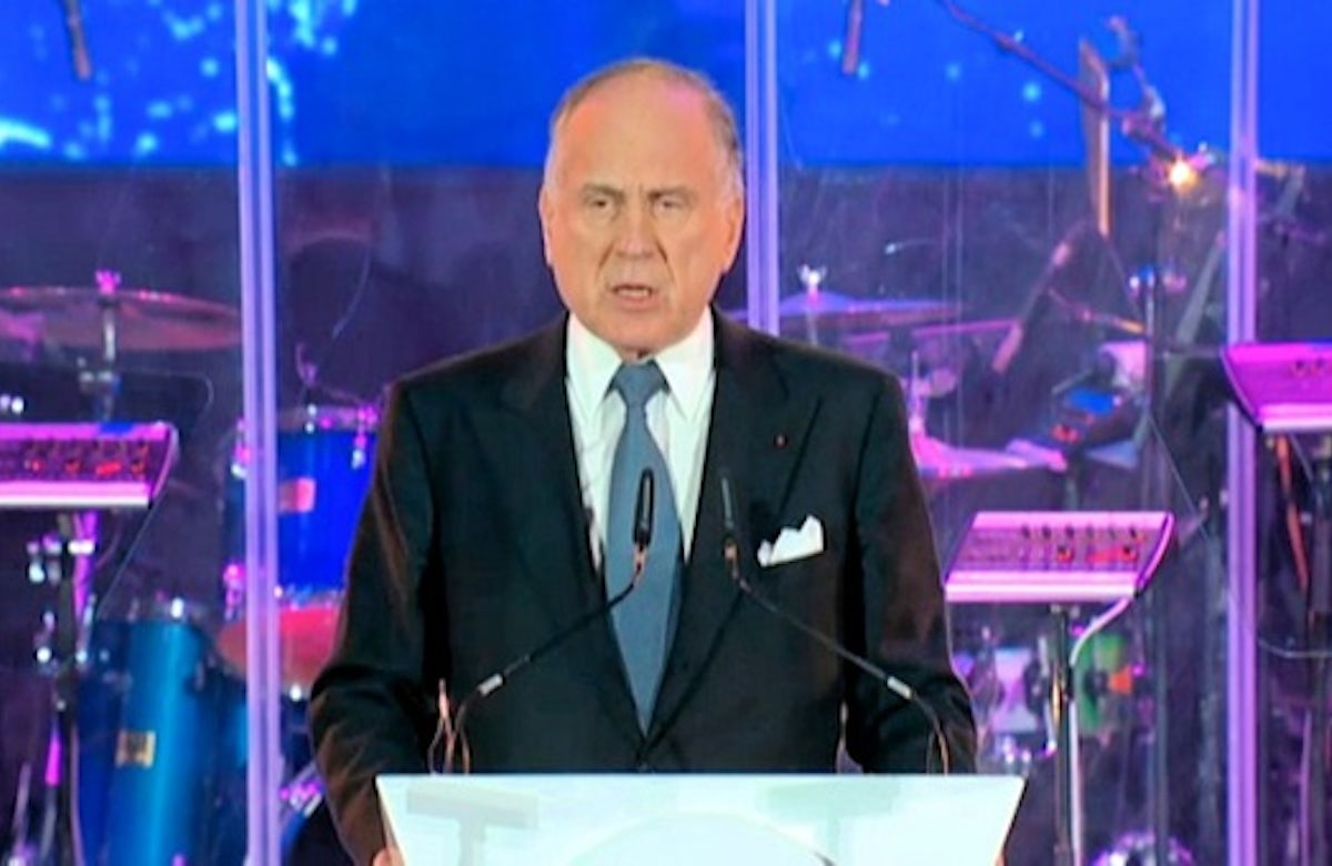 Lauder: Time to speak out against slaughter of Christians in Middle East