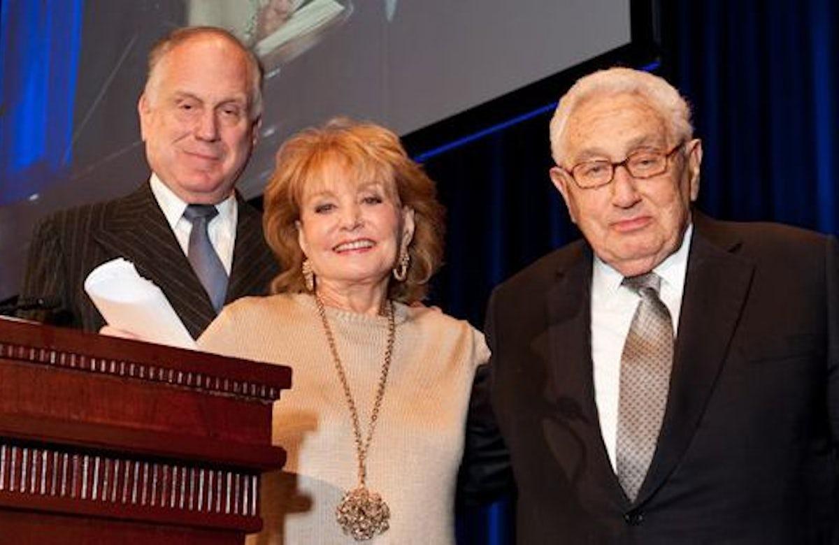 WJC honors Henry Kissinger with Theodor Herzl Award
