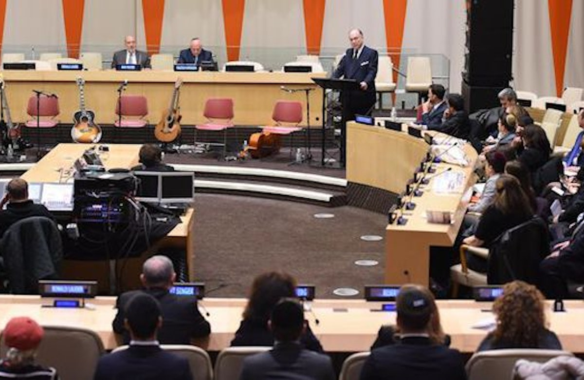 Jewish refugees center-stage at UN event in New York