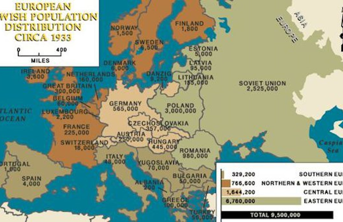 Report details sharp decline in number of Jews in Europe since WWII - World Jewish Congress