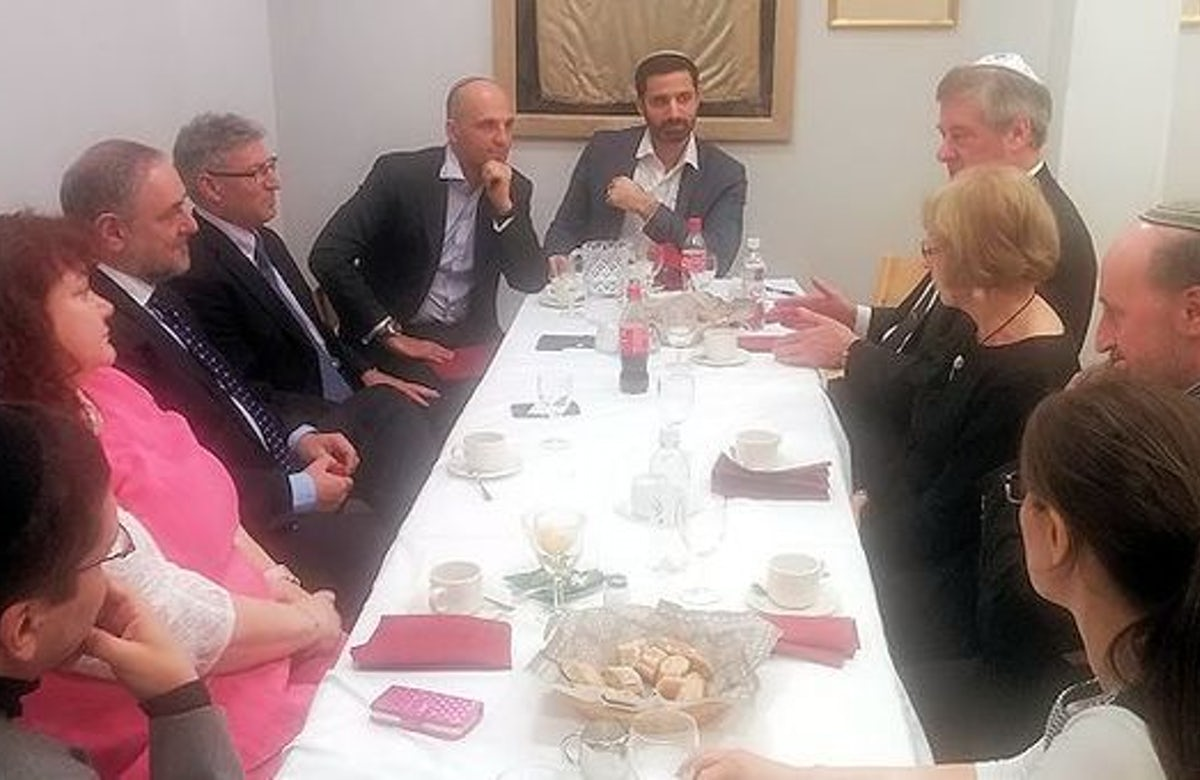 WJC CEO meets Scandinavian Jewish and political leaders to discuss security situation
