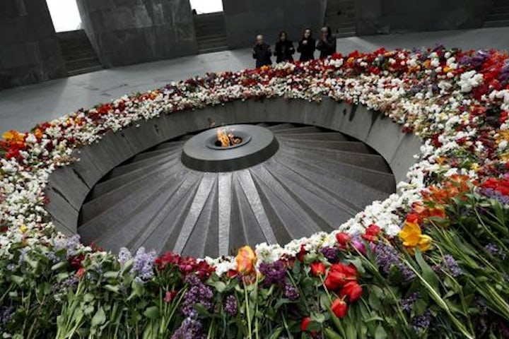 EAJC delegation at the memorial events  in Armenia