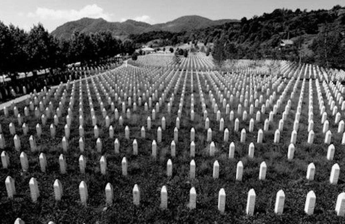Lauder: The lesson from Srebrenica is that we can't stand by when people are butchered