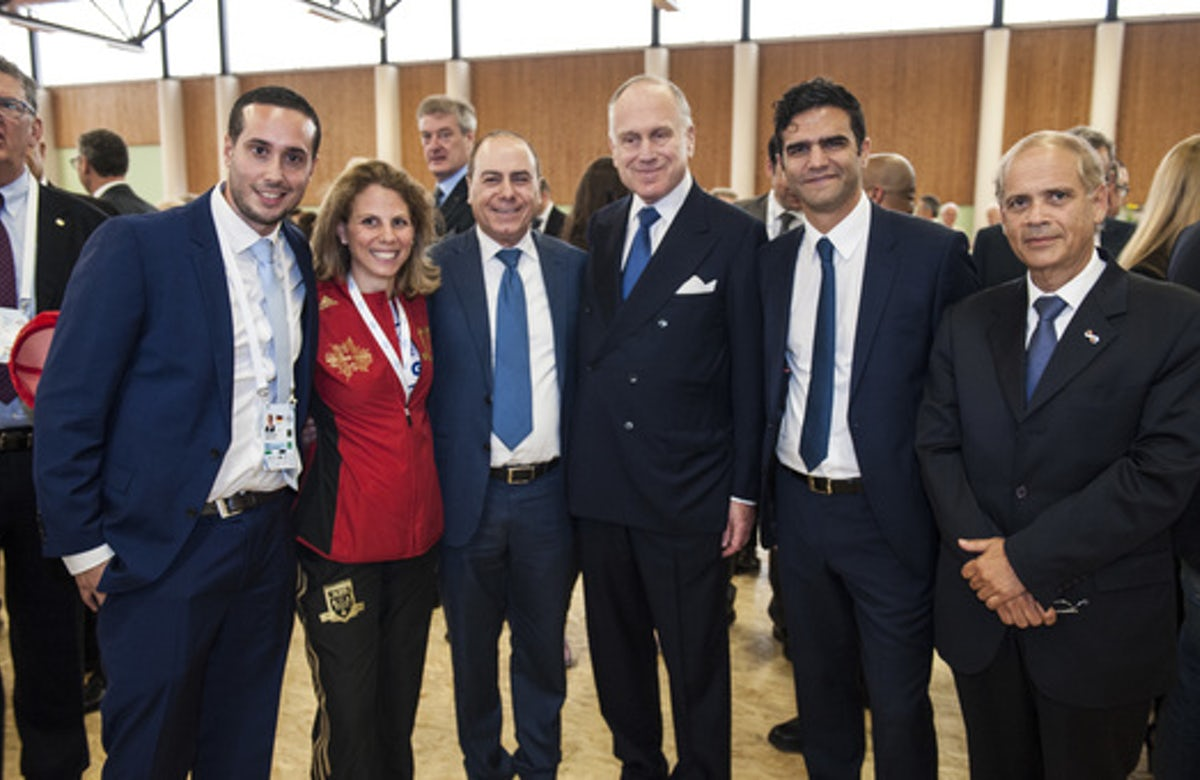 Ronald Lauder: Holding the European Maccabi Games in Hitler's Olympic Stadium is a 'triumph of good over evil'