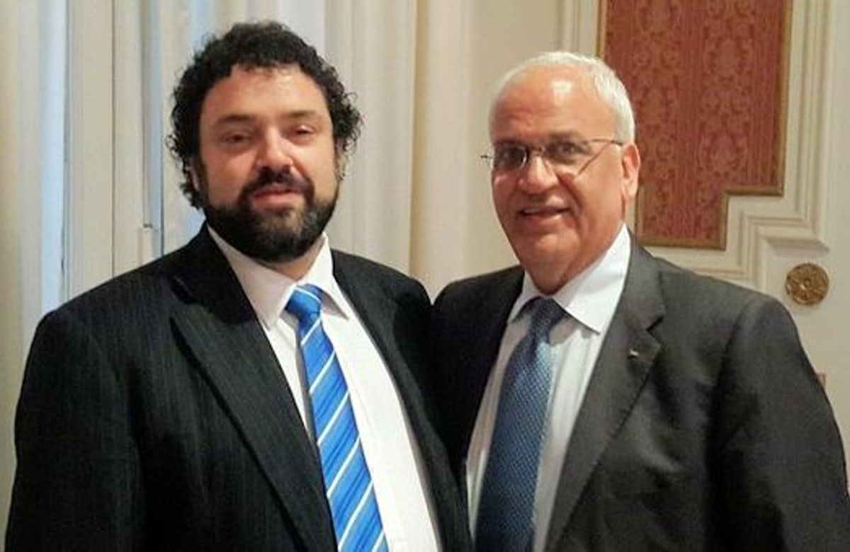 Latin American Jewish Congress director meets with Palestinian chief negotiator
