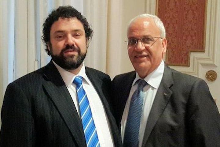 Latin American Jewish Congress director meets with Palestinian chief negotiator