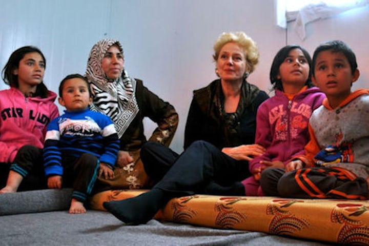 In Germany, Syrian refugees seek out a Jewish welfare organization - Times of Israel