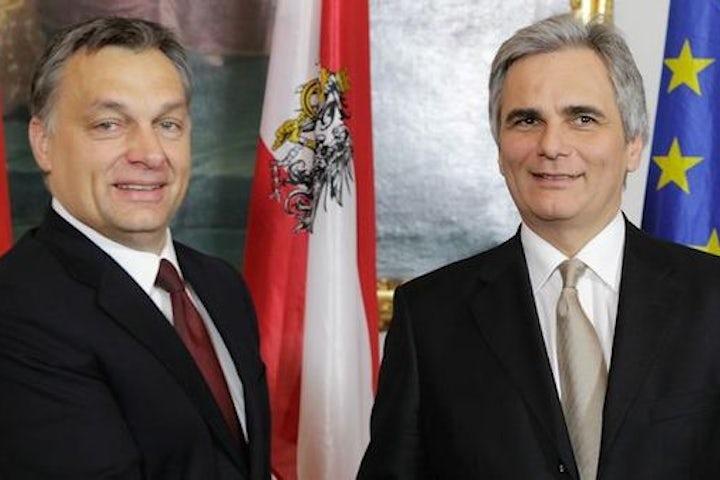 Austria's Faymann likens Orban's refugee policies to Nazi deportations - Reuters
