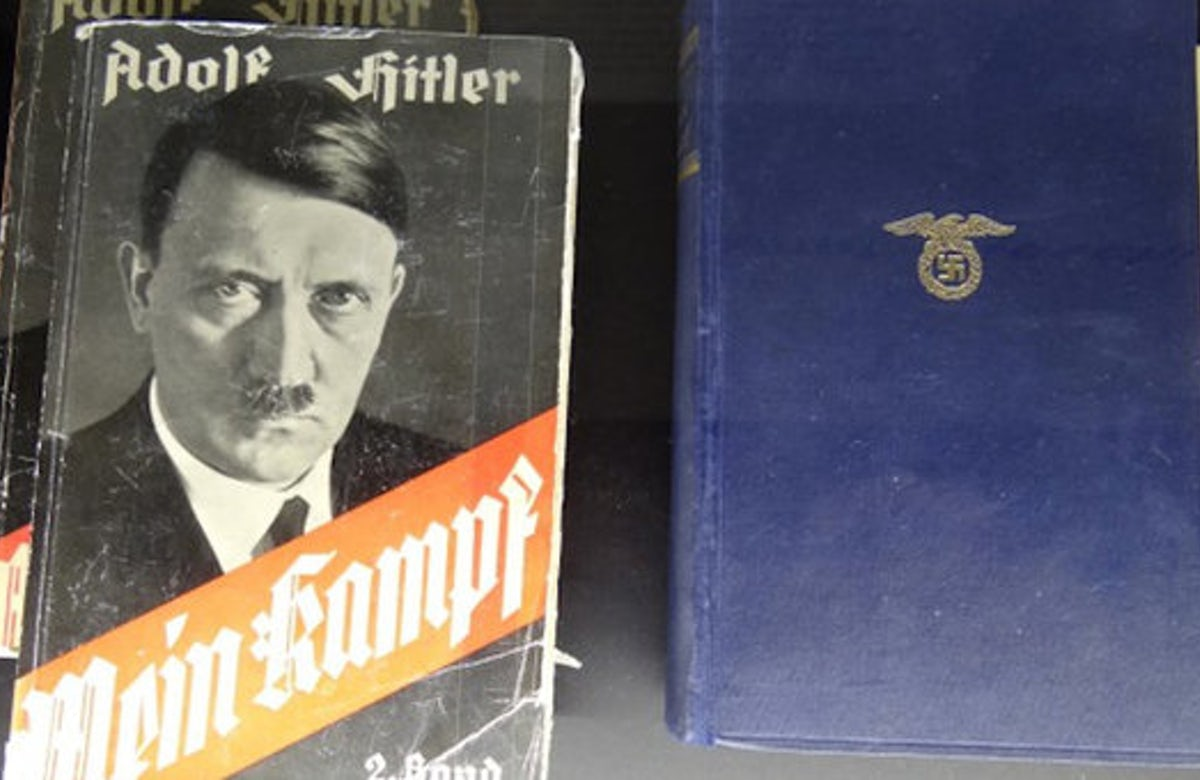 Lauder: 'Mein Kampf should be left in poison cabinet of history'