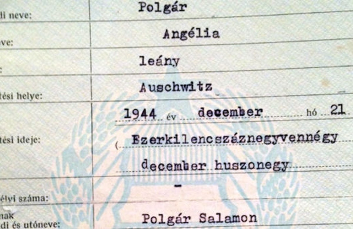 'Last survivors must speak out', says woman who was born in Auschwitz