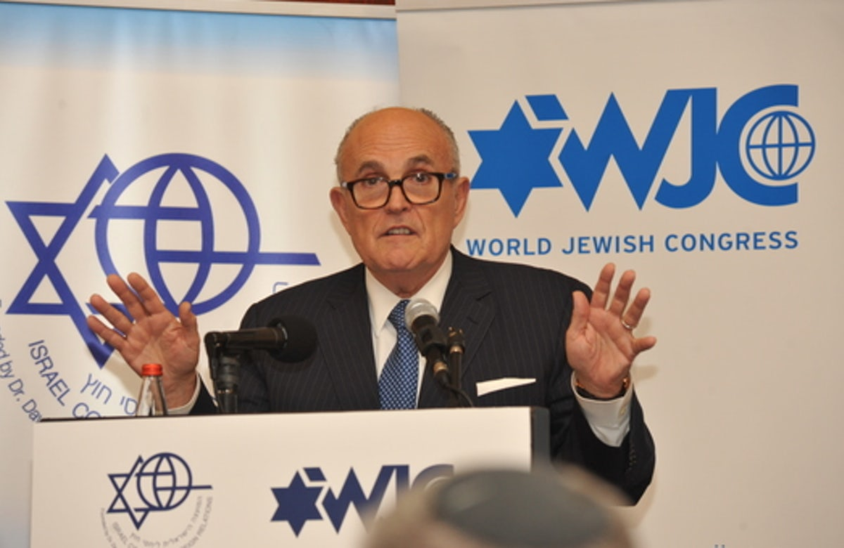 Rudy Giuliani: 'Israel taught me about resilience'