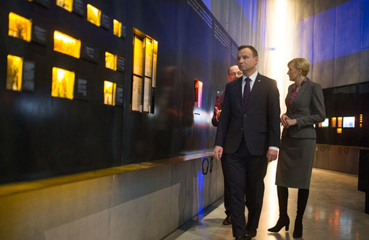 Polish President Duda: Anti-Semitism is also an insult to Poles who saved Jews during Shoah