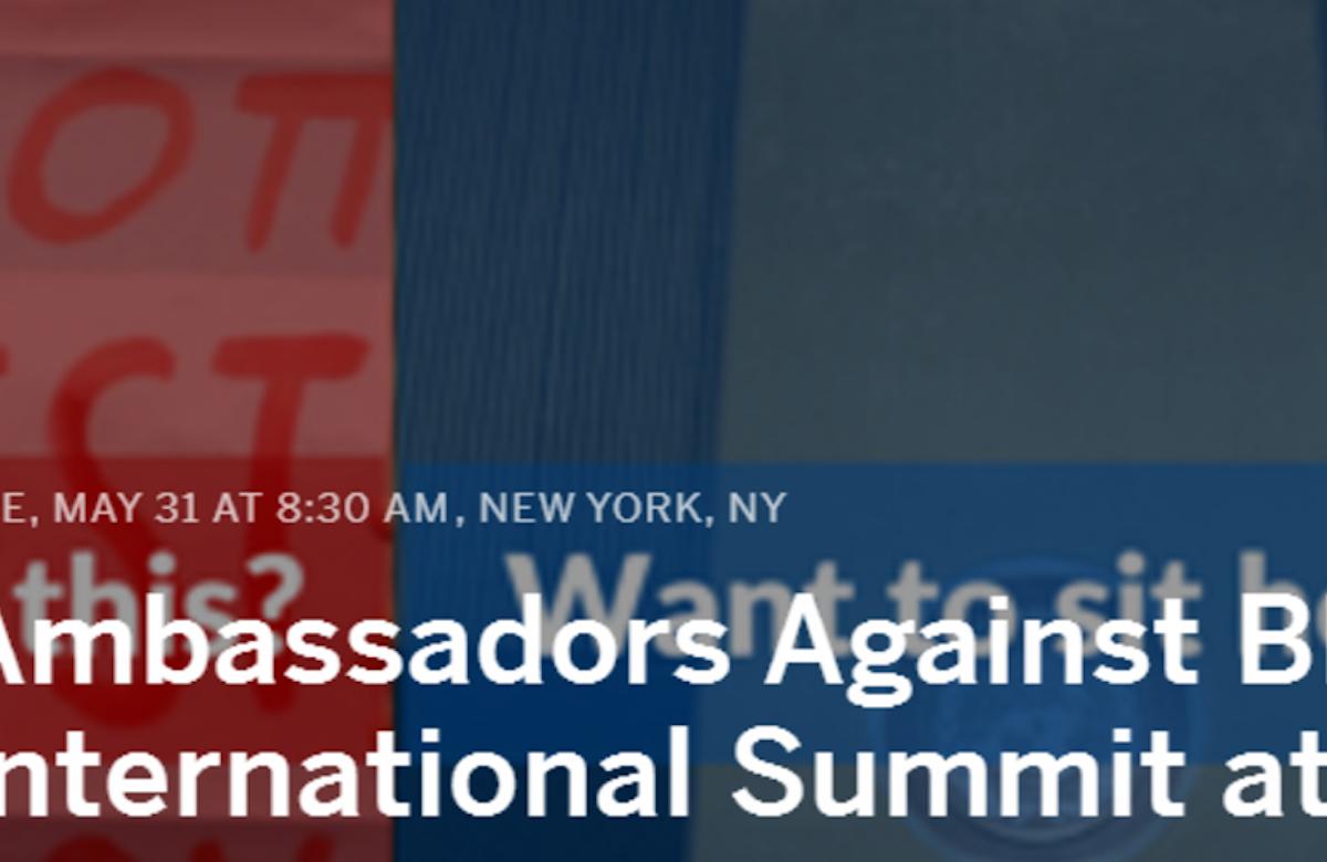 World Jewish Congress, Israeli mission to host first international summit against BDS, at UN headquarters in New York