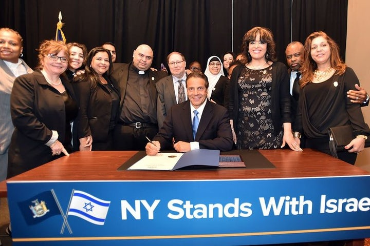 World Jewish Congress praises New York governor's leadership in signing anti-BDS order