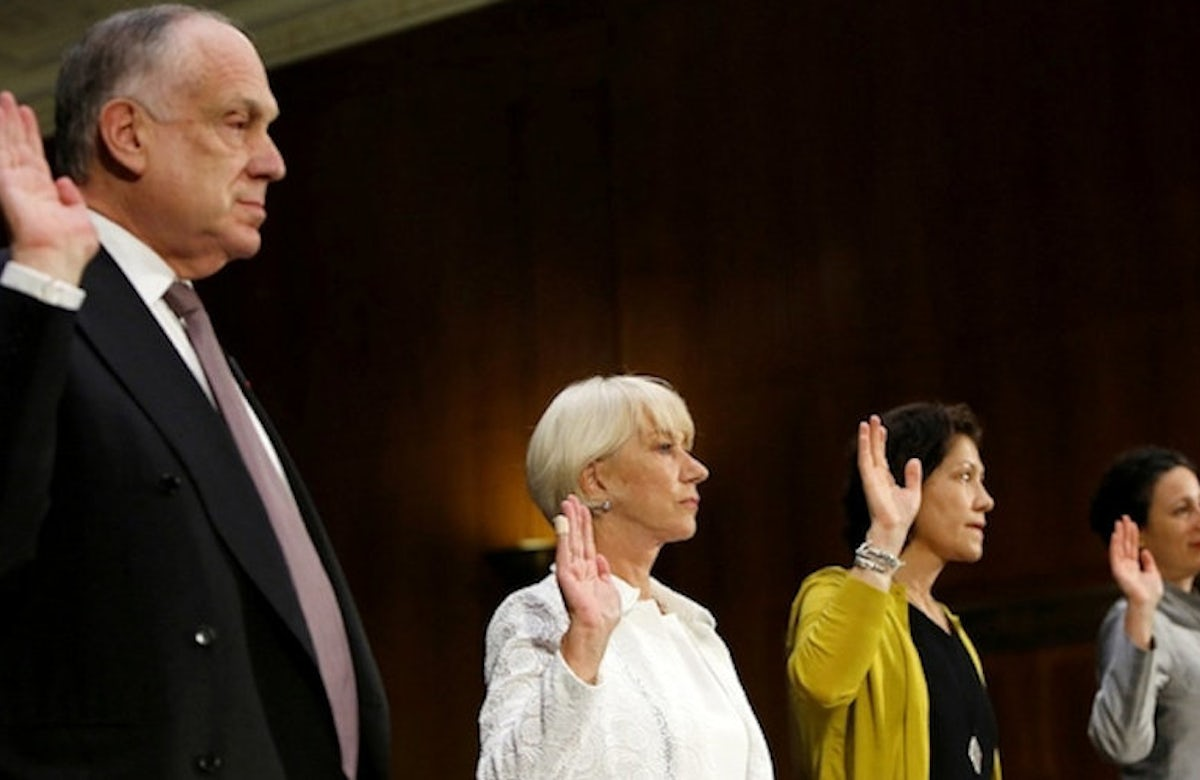 Ronald Lauder, Helen Mirren testify before US Senate committee on Nazi-looted art