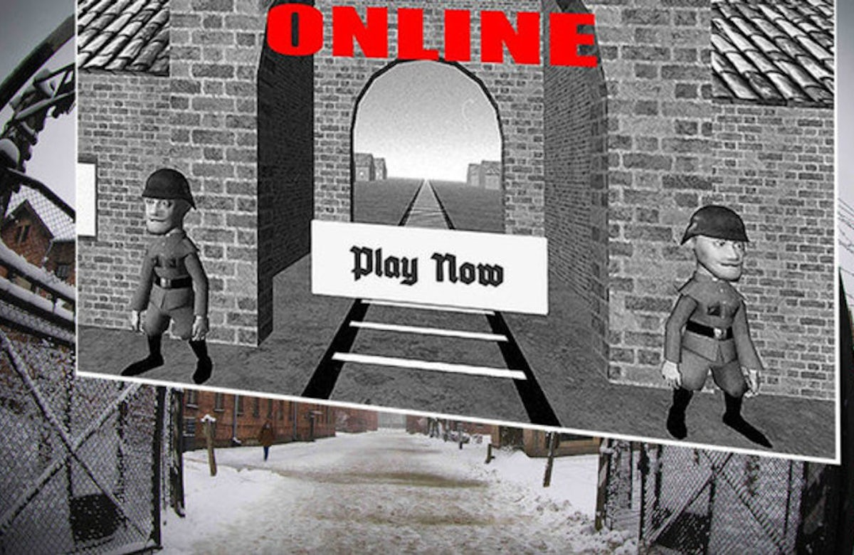 Auschwitz game available on Google service causes outrage