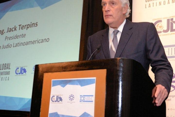 Latin American Jewish Congress co-hosts anti-Semitism parley