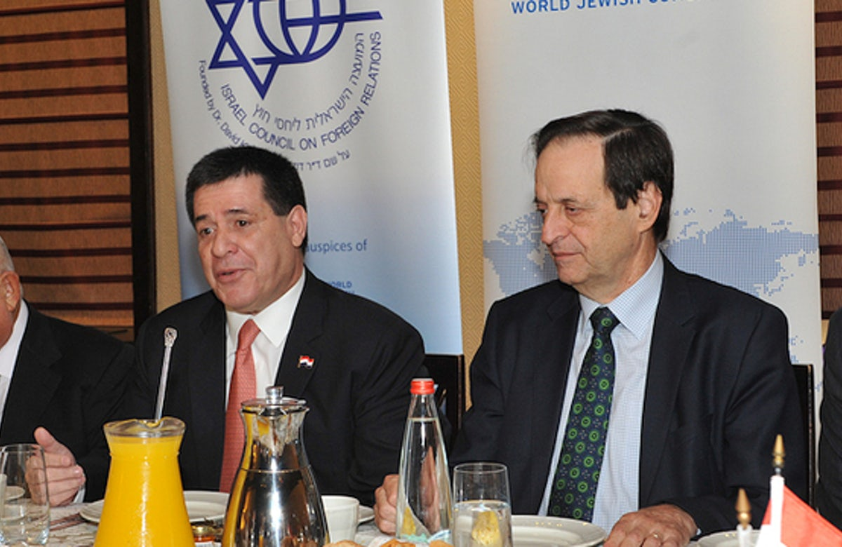 Paraguayan President Cartes: 'Israel is in the heart of Paraguayans'