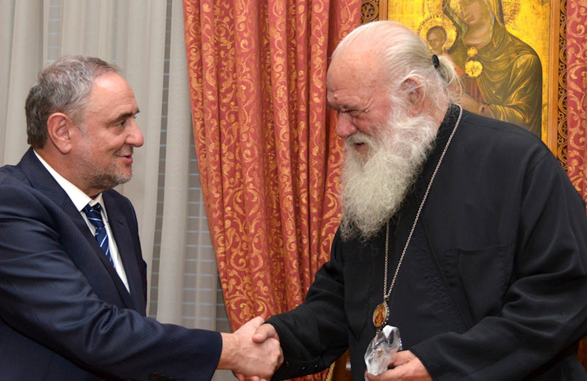 In Athens, WJC CEO urges Greek leaders to act against anti-Semitism, shun extremist party