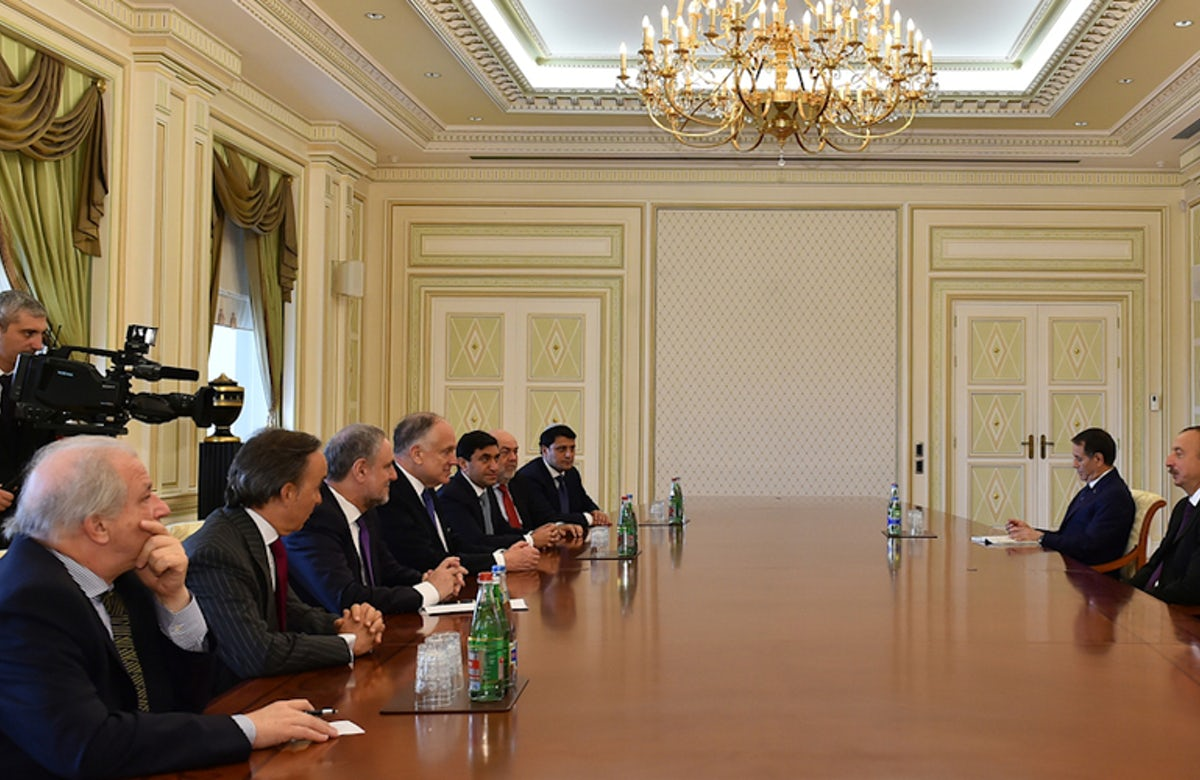 'Excellent relations with Jewish community and Israel,' Azerbaijan's president tells WJC delegation