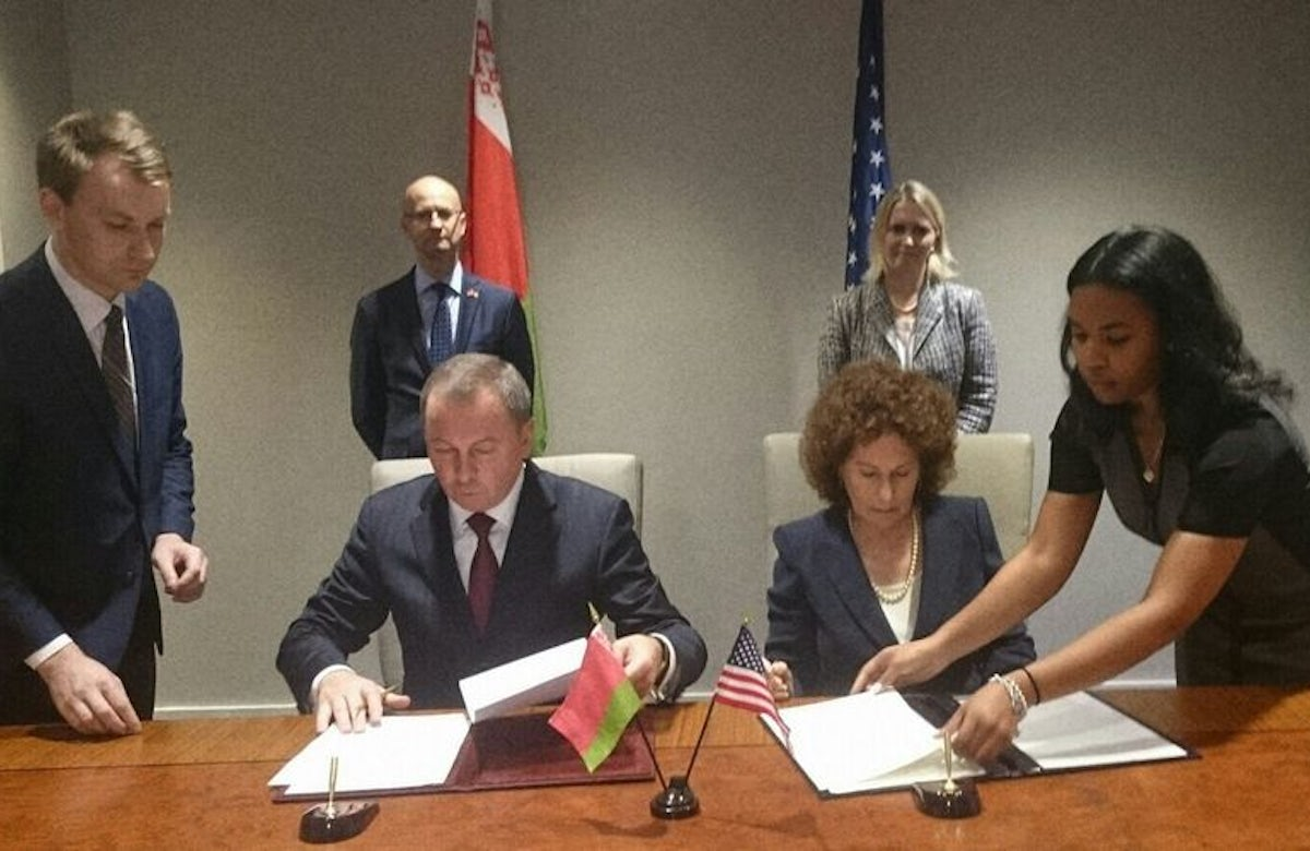 Belarus and US sign cultural heritage agreement at World Jewish Congress headquarters