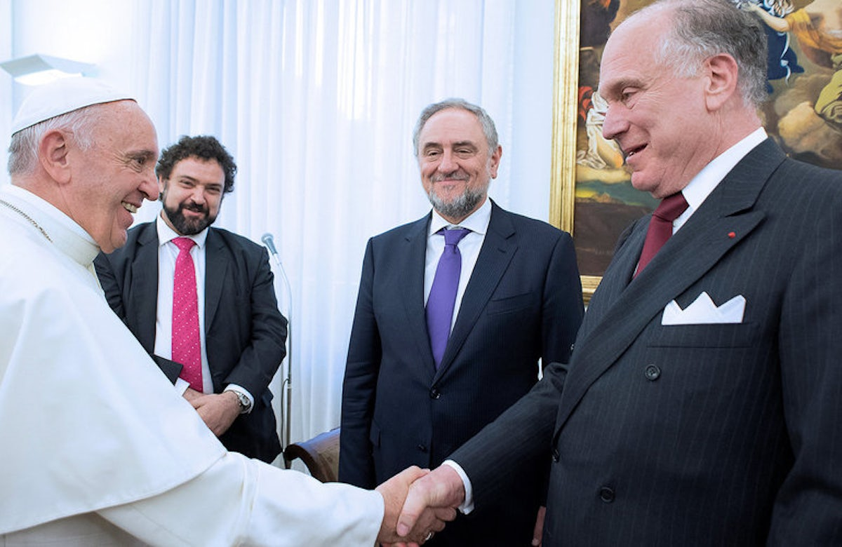 Integration of migrants is critical, Pope Francis tells World Jewish Congress leaders