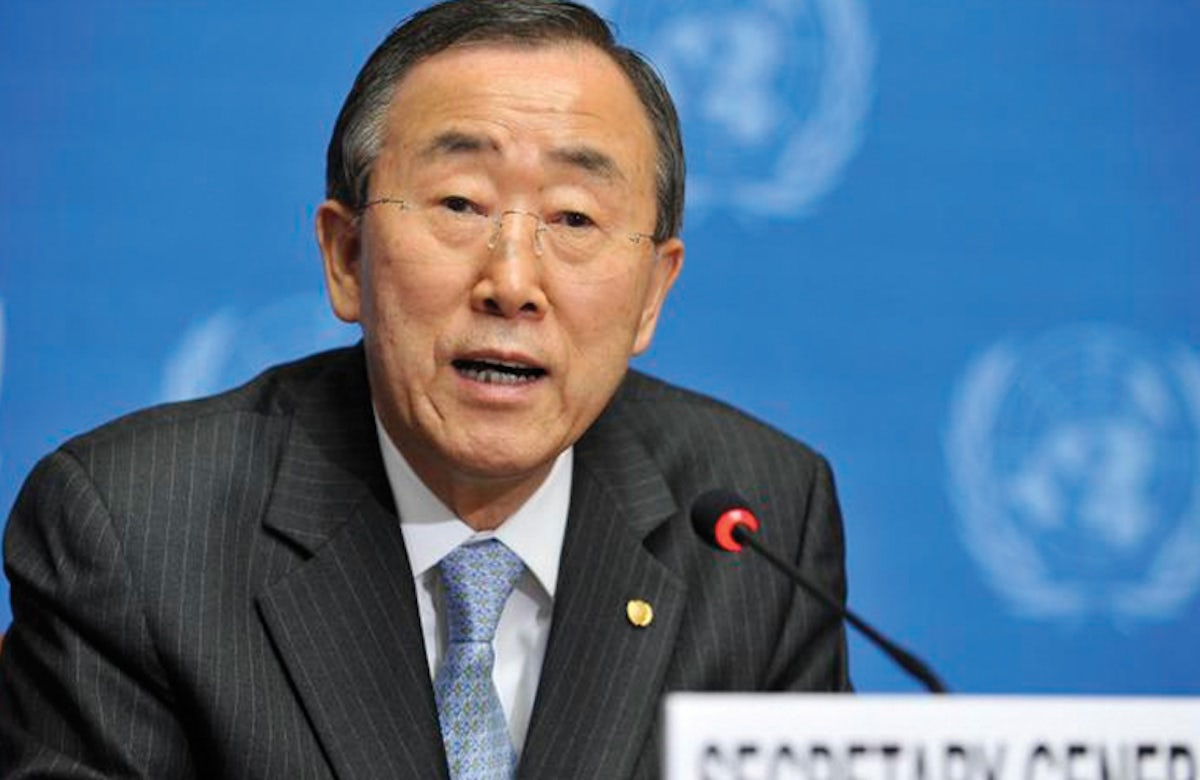 Lauder welcomes Ban Ki-moon's 'long-awaited' admission of UN bias against Israel