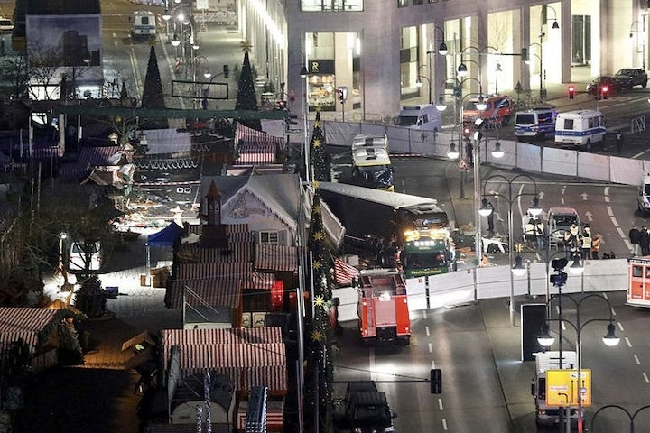 12 killed in attack on Christmas market in Berlin