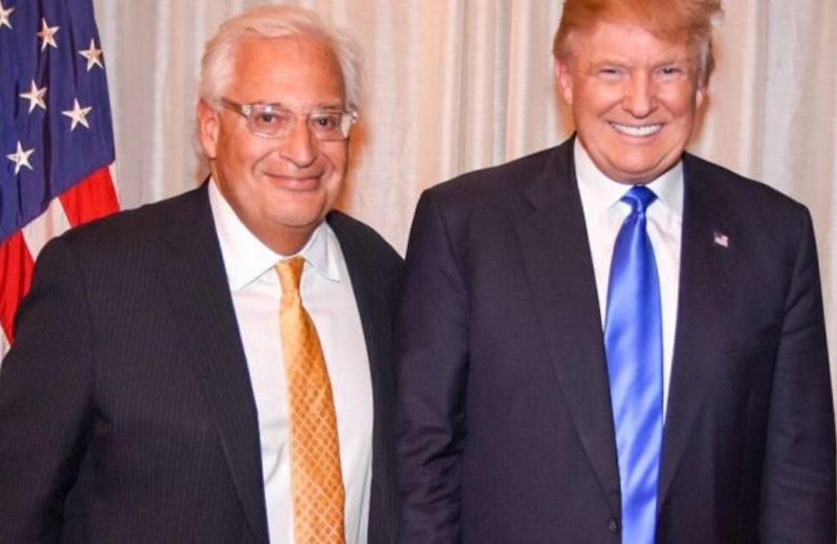 WJC President Lauder expresses confidence in choice of David Friedman as ambassador to Israel