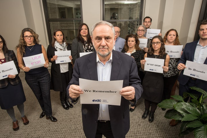 On Holocaust Remembrance Day, we must stand together as one and declare: #WeRemember