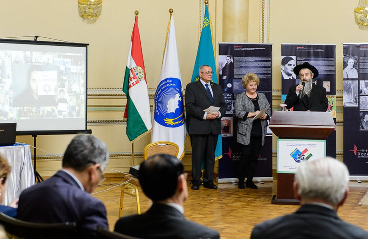 Kazakh Jewish community honors Holocaust victims at special event