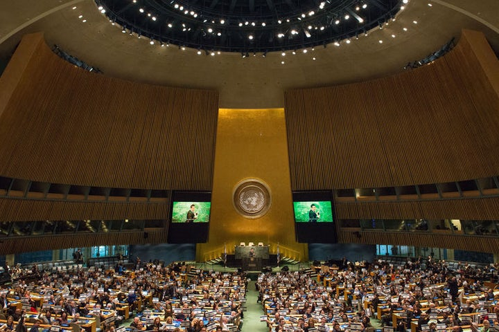 Ambassadors Against BDS: 2,000 gather at United Nations HQ in New York in support of Israel