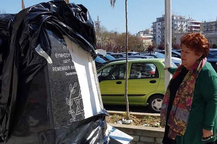 Vandals attack Holocaust memorial in northern Greece