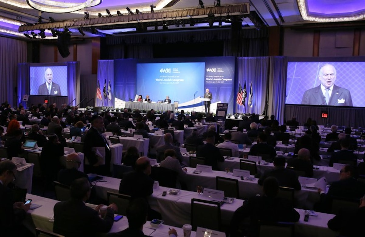 World Jewish Congress calls for clampdown on cyberhate