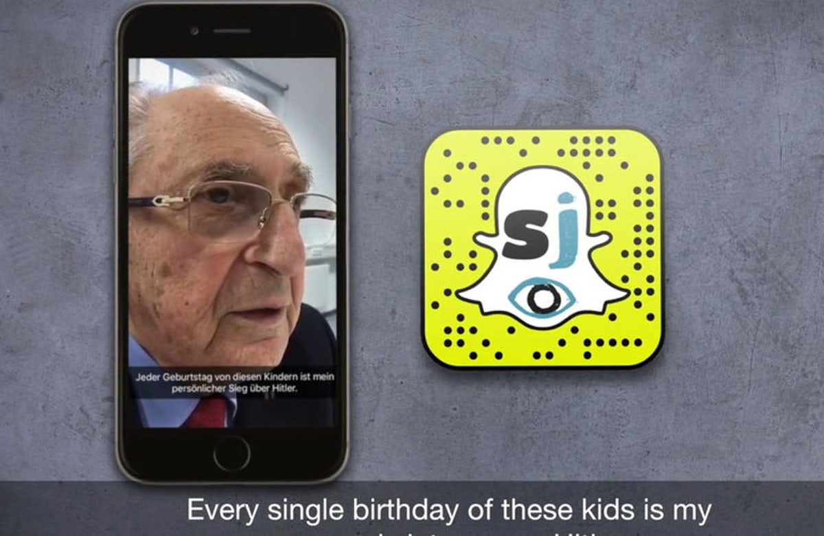 German project that talks about Holocaust on Snapchat gets prestigious awards