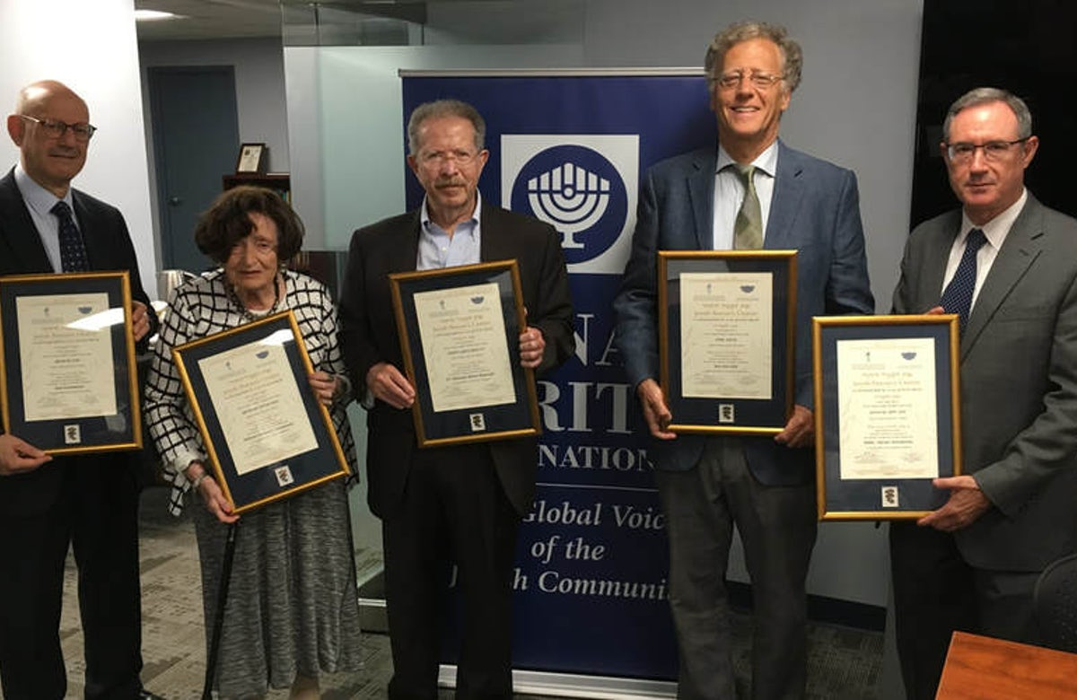 Bnai Brith honors Jews who rescued fellow Jews during Holocaust