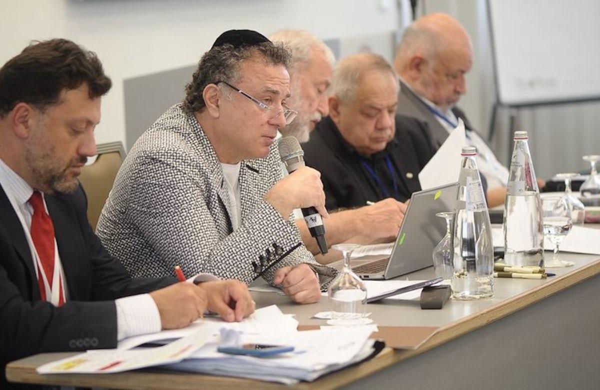 Euro-Asian Jewish Congress unanimously elects MikhaelMirilashvili as president