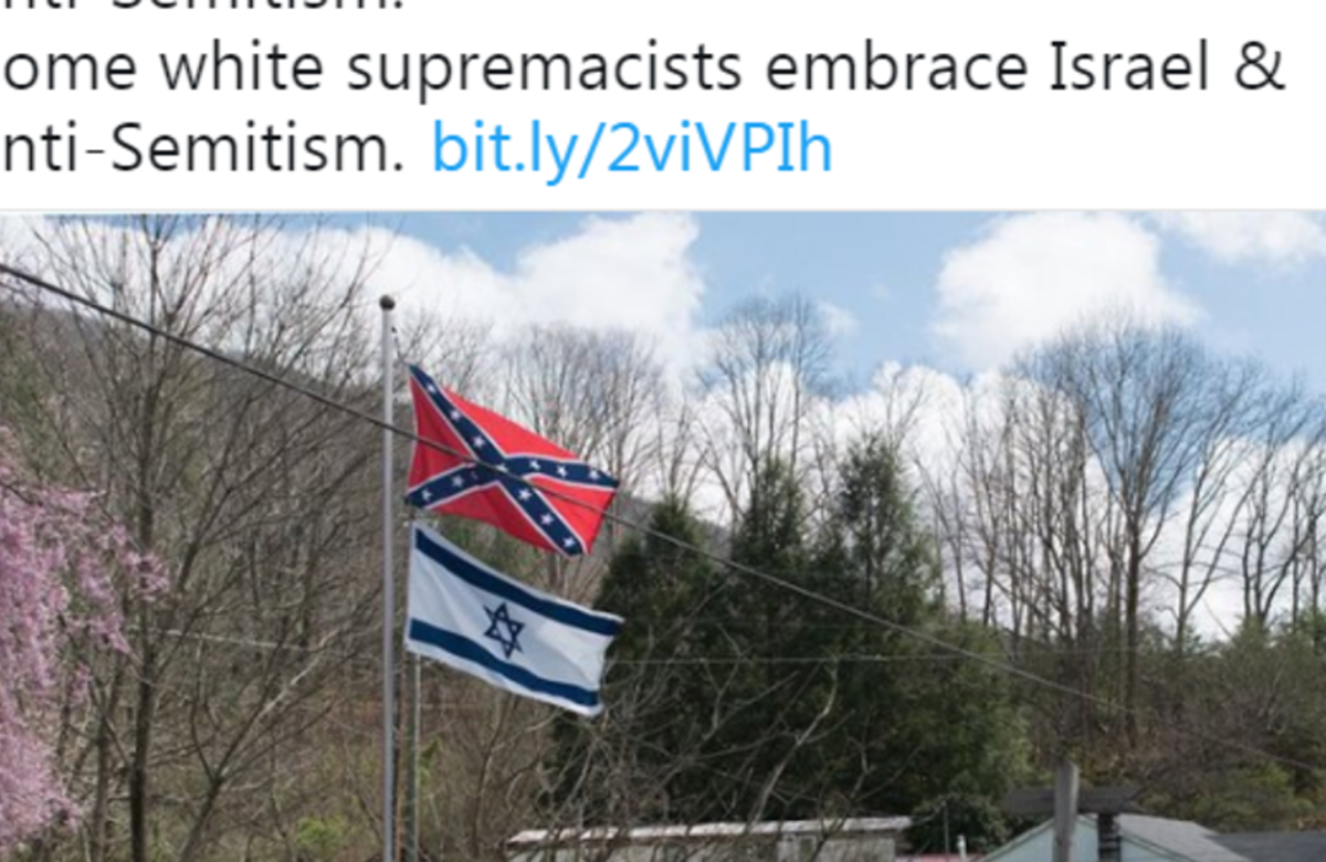 Human Rights Watch director tweets link to article equating White Supremacy and Zionism